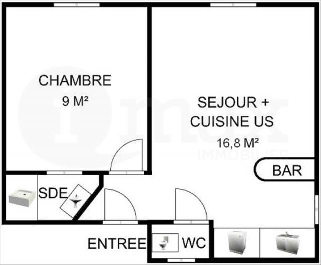 Achat-Vente-2 pièces-ile-de-France-HAUTS DE SEINE-COURBEVOIE